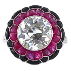 This is a great ring! Since ruby is my birthstone, I think I need this ring.