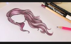 Adorable hair... try to draw it!!!