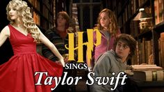 Harry Potter characters singing We Are Never Ever Getting Back Together THIS IS AMAZING