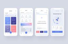 Mobile Web Design, App Ui Design, User Interface Design, Android Design, Mobile Mockup, Mobile Ui, Coaching, App Design Inspiration, Ui Web