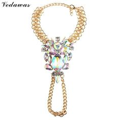Fashion Jewelry Hot Multicolor Crystal Rhinestone Boho Anklet Metal - Just Wonderfully Made, boho, summer  fashion,