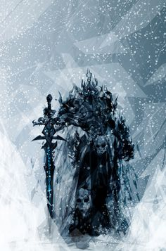 The Lich King with Frostmourne
