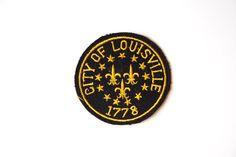 City of Louisville Vintage Patch by PomegranateVintage on Etsy, $4.00