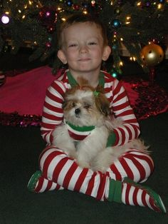 Cayden and Maisey, I love this picture :)