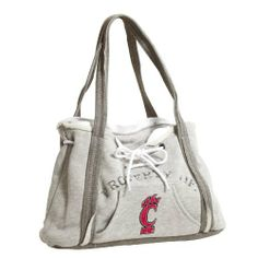 NCAA Cincinnati Bearcats Hoodie Purse by Pro-FAN-ity by Littlearth. $14.75. Pro-FAN-ity by Littlearth offers you the authentic feel of your favorite sweatshirt in their Officially Licensed Hoodie Purse. These purses take the authentic look and feel of your favorite team sweatshirt and craft them into purses that will give you that Saturday night style, even when you're heading off to the Sunday afternoon game. Vintage detailing and decorative lacing are just a few of the way...