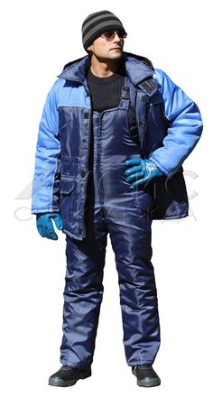"Suit insulated ""Baltiets"" (jacket / bib)"