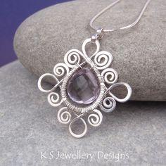Спиральные Loop Фоторамки (серьги и подвески)   JewelryLessons.com