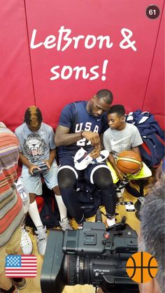 f0b0fa001d4e Shoutout to LeBron for being an awesome dad!  TeamUSA Family Events