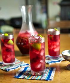 Sour Cherry Caipirinha with tart Michigan cherry juice. Perfect pucker ...