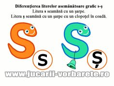 s-ş diferenţiere Alphabet Worksheets, Therapy, Animal, Rome, Animals, Animales, Counseling, Animaux, Animais