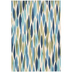 Nourison Bits and Pieces Seaglass 7 ft. 9 in. x 10 ft. 10 in. Area Rug - 147639 - The Home Depot