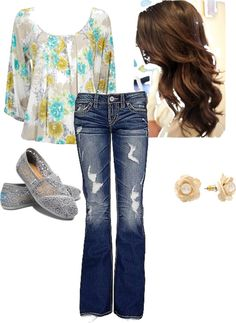 Spring, created by ryannnicole on Polyvore