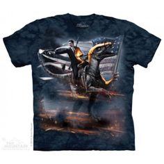 Tricouri The Mountain – Tricou Reagan Velociraptor Funny Shirts, Cool T Shirts, Ronald Reagan, Oeko Tex 100, Band Shirts, Branded T Shirts, Shirt Style, Classic T Shirts, Mens Tops