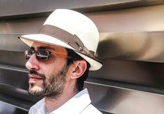 Sunglasses and Panizza hat!
