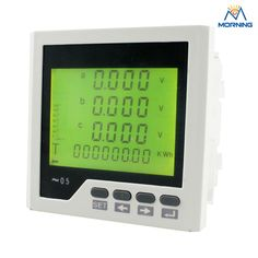 77.80$  Watch now - http://alihmy.worldwells.pw/go.php?t=32388006829 - 3LD3Y panel size96*96 low price industrial type LCD 3 phase digital energy meter, with fire monitor function 77.80$