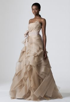 And the bride wore black could sombre wedding dresses from intricate and airy with the deidre vera wang defies expectation by taking the customary strapless bridal gown and turning it into a showcase junglespirit Images