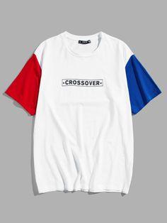 Streetwear Shorts, Camisa Polo, Printed Tees, Mens Tees, Shirt Style, Shirt Designs, Street Wear, Tee Shirts, Sleeves