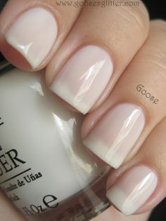 OPI - Don't Touch My Tutu. A soft, milky-white jelly. Intensity: 2. Collection: NYC Ballet Soft Shades 2012
