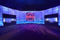 A grand entrance is an understatement. The ESPYS were looking as good as always this year. Check out the lighting design and custom logos we put together for this iconic ESPN event. #ESPYS #ESPN #1540Productions #events. - http://ift.tt/1HQJd81