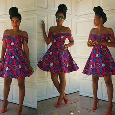 The complete pictures of latest ankara short gown styles of 2018 you've been searching for. These short ankara gown styles of 2018 are beautiful African Fashion Ankara, Latest African Fashion Dresses, African Print Fashion, Africa Fashion, Latest Ankara Short Gown, Ankara Short Gown Styles, Short Gowns, Dress Styles, Ankara Designs