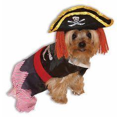 Perro Pirata Disfraz De Halloween