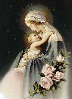 Jesus and Mary  Beautiful image