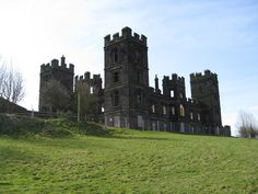The decaying ruins of Riber Castle, the most prominent land-mark to be seen around Matlock.