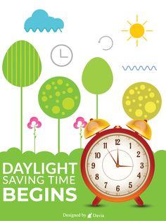 Birthday Greeting Cards, Birthday Greetings, Daylight Savings Time Begins, Birthday Reminder, Birthday Calendar, Saving Time, Spring Is Coming, New Beginnings, Clock