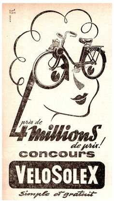Creative Retro, Illustrations, Typeverything, and Millions image ideas & inspiration on Designspiration Bike Poster, Motorcycle Posters, Poster Ads, Vintage Graphic Design, Graphic Design Typography, Retro Design, 1950s Design, Vintage Advertisements, Vintage Ads