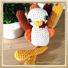 Annoo's Crochet World: Gobble Gobbly A Turkey with an attitude Free Patte...
