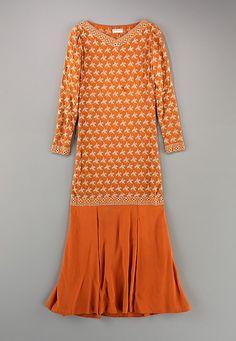 Dress 1925, American, Made of silk