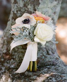 pretty pale 'maid's bouquet calder clark designs blossoms events a bryan photo