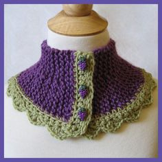 The Grapes of Wrap #Knitted & #Crocheted Cowl Collar Scarf in Etsy treasury: http://www.etsy.com/treasury/MTIzNzc0MTZ8MjcyMTgxMTg2Nw/makes-you-wanna-touch-it