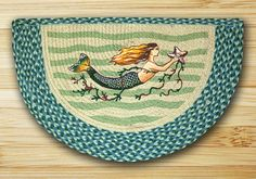 Earth Rugs Mermaid Braided Slice Area Rugs Are Great In Your Home For That Country Feeling!!!! ON SALE NOW!!!!