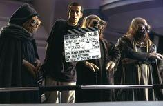 The Phantom Menace - Preparing to film the Senate vote against Chancellor Valorum.