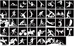 Картинки по запросу pictograms summer olympics