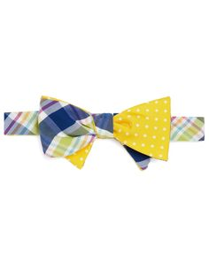Steveland Ties Bow | Social Primer Reversible Bow Tie: Madras and ... | guys: this is what ...