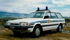 icelandic subaru police car