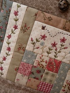 Bordado embroidery quilt