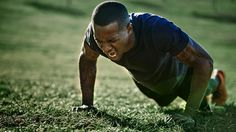 The road to completing 100 press-ups in one go is a hard one