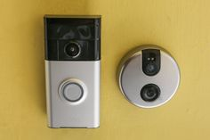 Doorbells Become the Eyes and Ears of the Smart Home - Ring and Skybell are home-monitoring systems and two-way intercoms for the smartphone era Ring Security, Smart Home Security, Security Cameras For Home, Home Security Systems, Home Monitoring System, Smart Home Design, Smart Home Control, Home Tech, Audio
