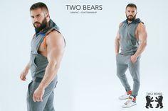 #twobearsbrand #clothsmen #bear #sportwear #pride #twobears #bearwear #tanktop #tshirt #fetish Bear Graphic, Sport Wear, Bears, Pride, Tank Tops, How To Wear, T Shirt, Men, Clothes