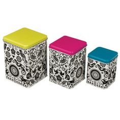 Folklore Nesting Tins Set of 3 now featured on Fab. by wild and wolf