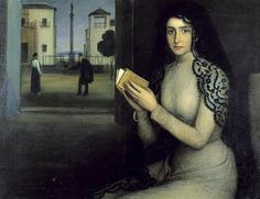 Mujer en oración (Woman at Prayer) - Julio Romero de Torres