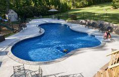 Cool Above Ground Pool Ideas | amazing cool aloha swiming pools design ideas