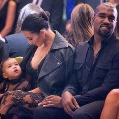 Kardashian-West family at Paris Fashion Week
