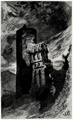 Victor Hugo, from Ninety-three vol. 2, by Victor Hugo, London, New York, 1889.