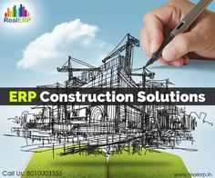 #ERPConstructionSolution meets the demands of real estate industry for the real estate developers, builders, and contractors. It provides Project Managers and Accountants with advanced management tools with integrated visibility.  See more @ http://bit.ly/1xZgUjO #RealERP #ConstructionSoftware