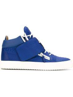 Giuseppe Zanotti Design embossed hi-top sneakers
