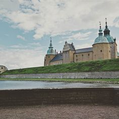 The Kalmar castle in the South East of Sweden (Province of Småland). The history of this castle goes back 800 years.